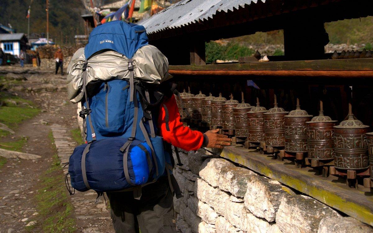 W długiej podróży twój plecak stanie sie towarzyszem na dobre i złe
