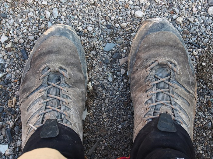 zagros thru-hike shoes