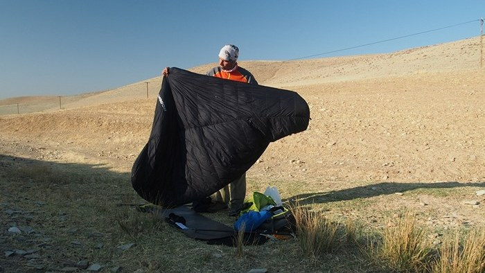 zagros thru-hike sleeping bag