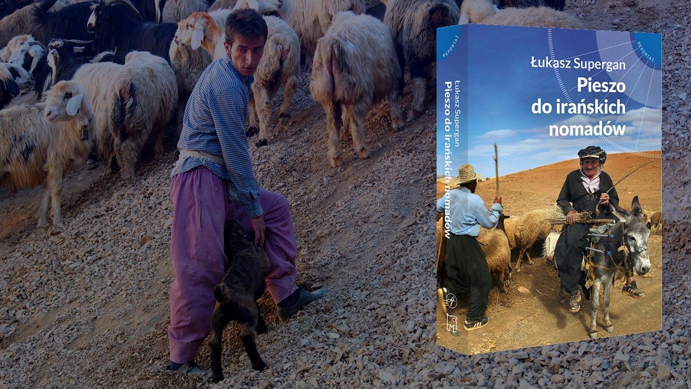 książka pieszo do irańskich nomadów