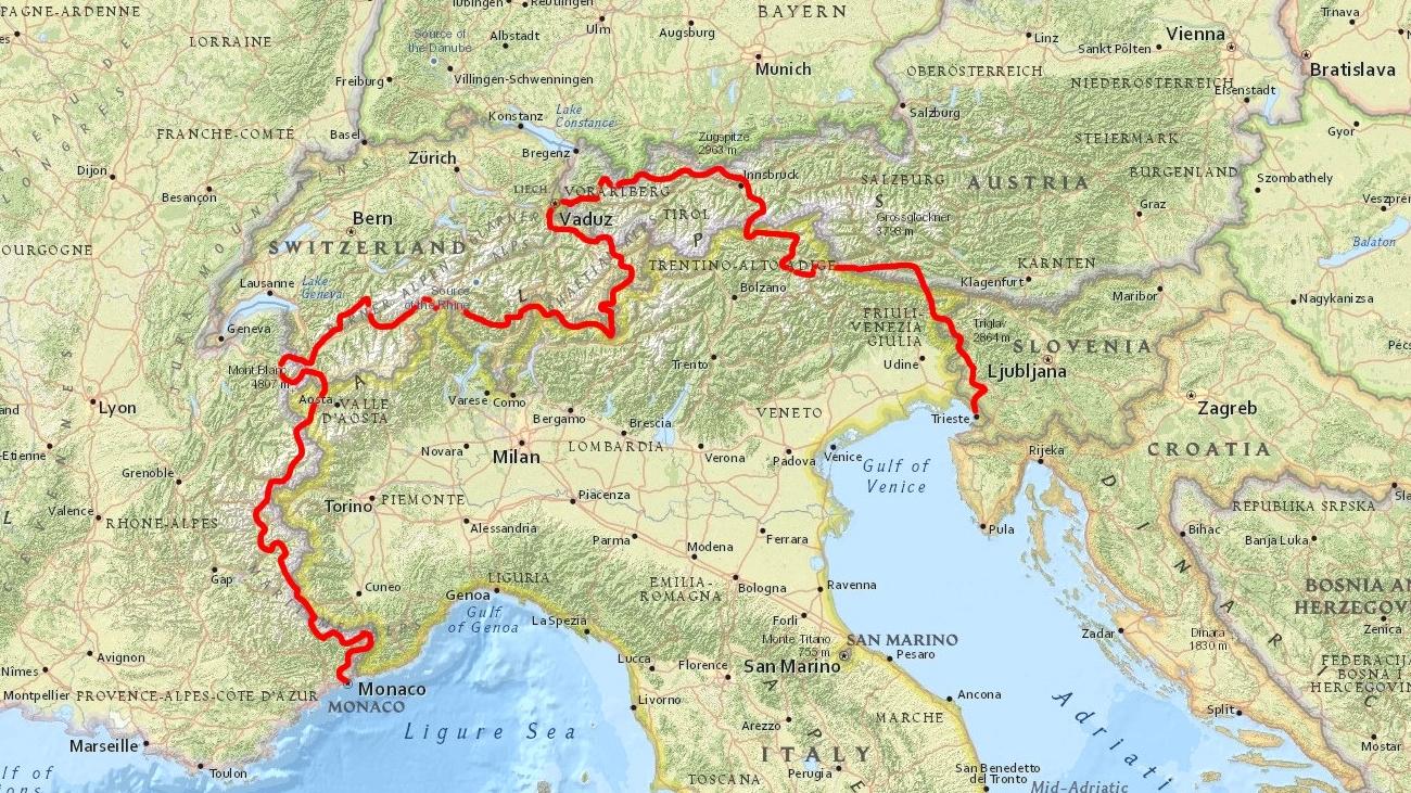 Via Alpina – 2631 kilometrów przez Alpy