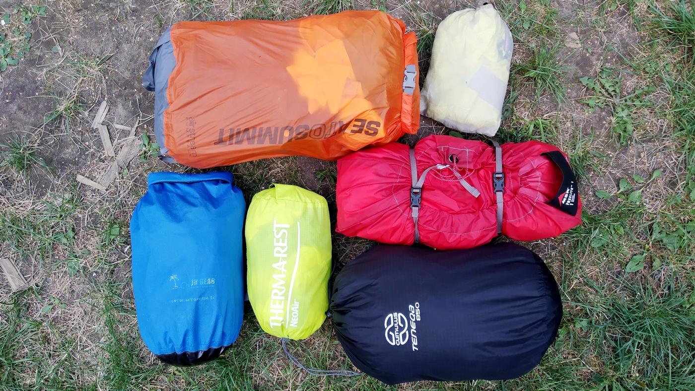 Pakowanie zestawami: porządek i oszczędzanie miejsca w plecaku