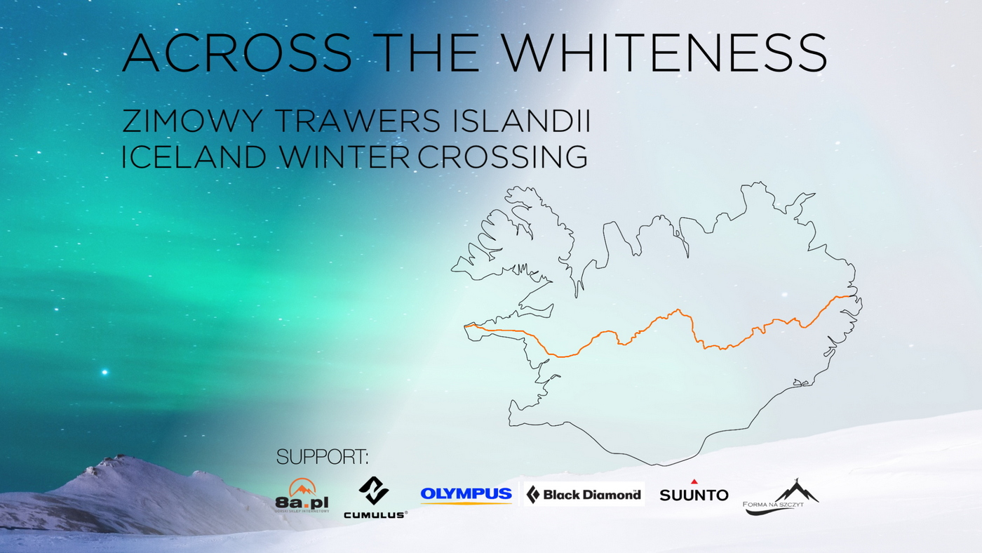 ACROSS THE WHITENESS – solo winter crossing of Iceland