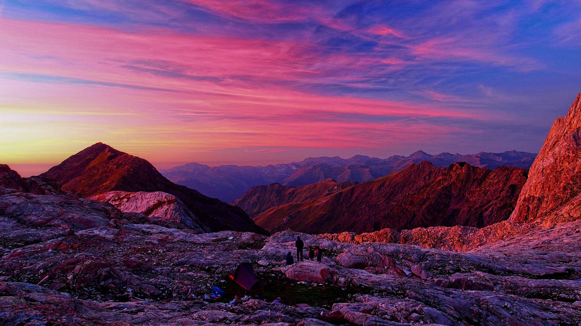 Szlak HRP przejscie Pirenejow