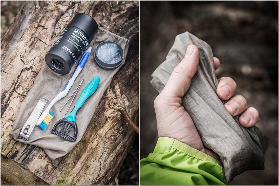 higiena w górach kosmetyczka