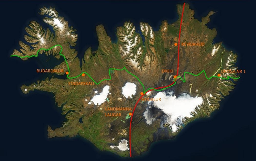 trawers Islandii schroniska depozyty