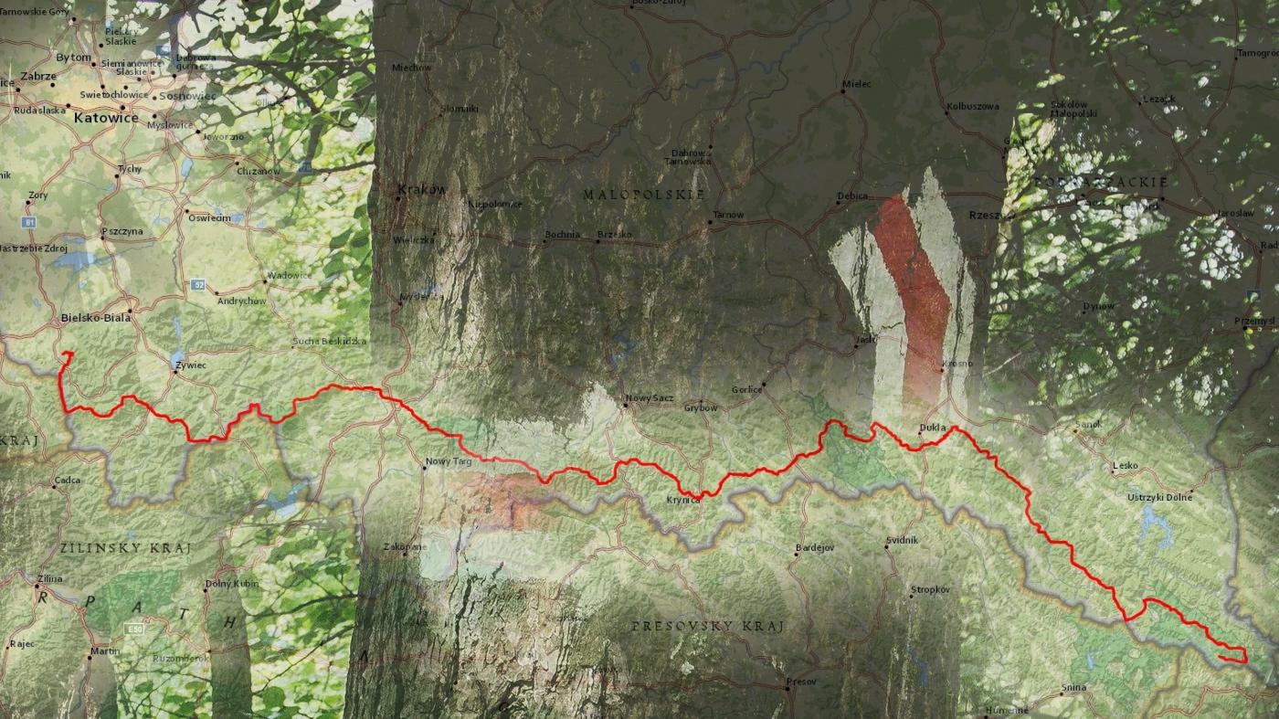 Główny Szlak Beskidzki. Cz. 1 – logistyka
