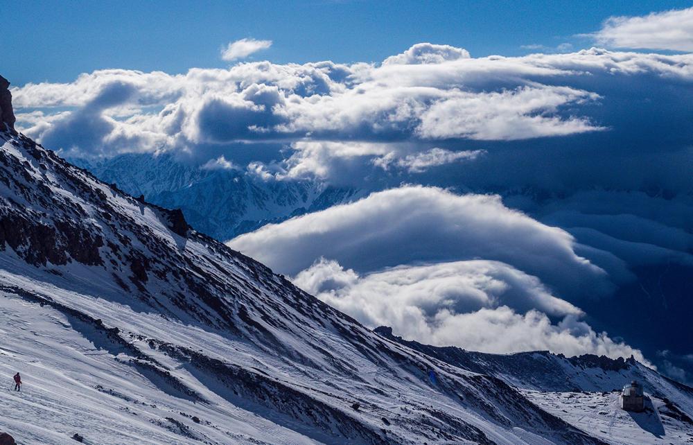 wejście na kazbek gruzja mountain freaks