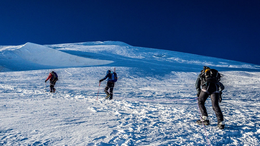 wejście na kazbek wejście na elbrus