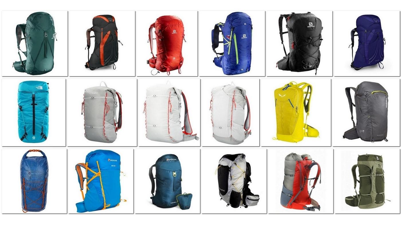 30 (+2) lekkich i ultralekkich plecaków do wędrówki
